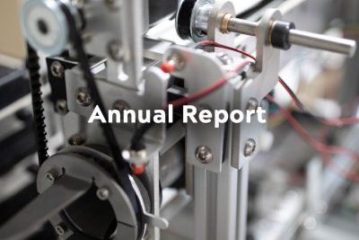 button image for downloading the Annual Report