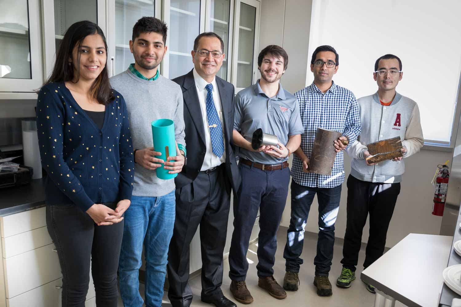 Sunhil Sinha and his research students